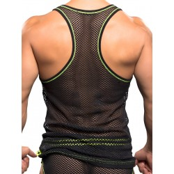 Andrew Christian Net Tank Top Black (T4113)
