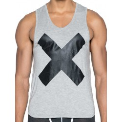 2Eros X Series Tank Top Grey Marle