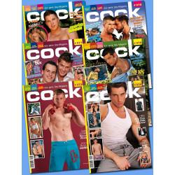 Cock Magazine Abonnement 6 Ausgaben
