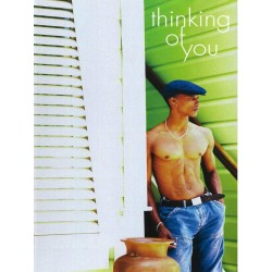 Love: Thinking of you Greeting Card (M8149)