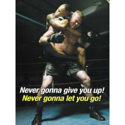 Never gonna give you up! Greeting Card