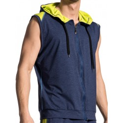 Olaf Benz Hoody Vest RED1710 Night-Lime
