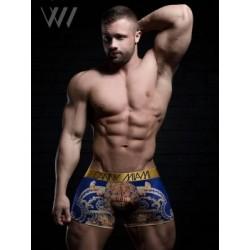 Danny Miami Vintage Emperor Boxer Underwear Multi (T5002)
