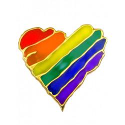 Pin Rainbow Heart (T5214)