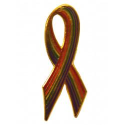 Pin Regenbogen / All Rainbow Ribbon (T5211)