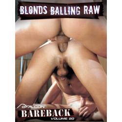 Bareback Classics 20: Blonds Balling Raw DVD (Falcon) (10981D)