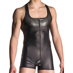 Manstore Zipped Body M700 Underwear Black (T5518)