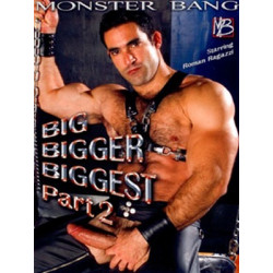 Big Bigger Biggest #2 DVD (Raging Stallion) (04230D)