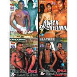 Black 4-DVD-Set
