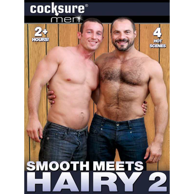 Smooth Meets Hairy #2 DVD (Cocksure Men) (11762D)