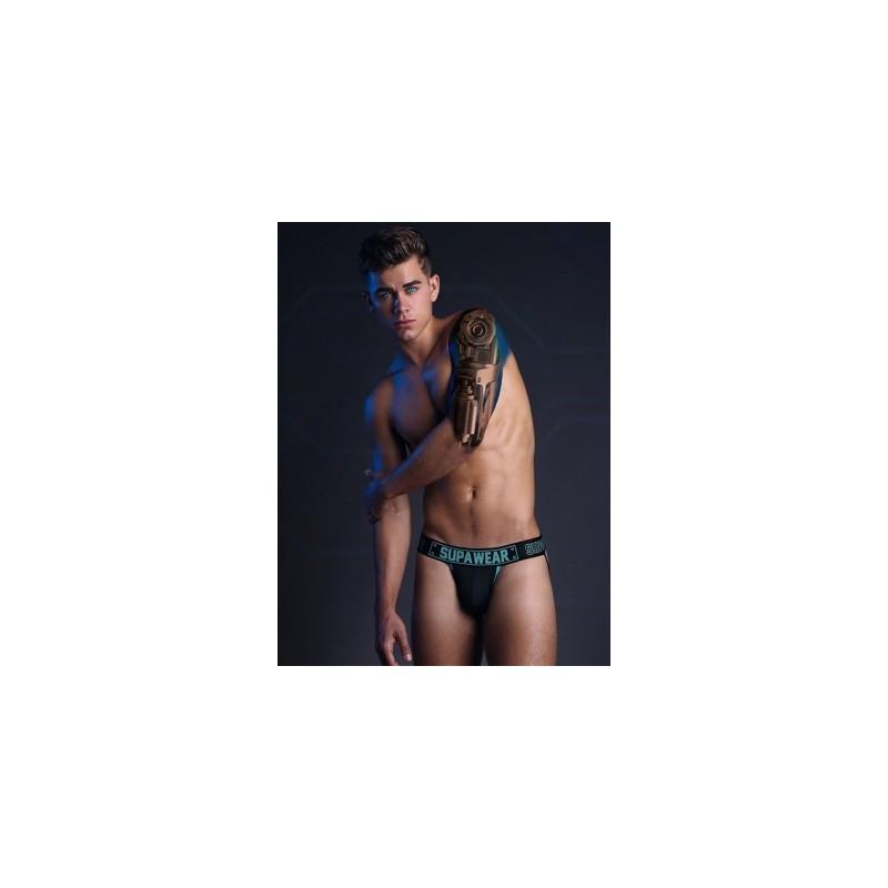 Supawear Cyborg Jockstrap Underwear Bionic Blue (T5543)