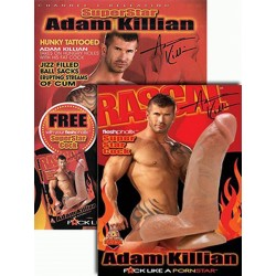 SuperStar Adam Killian FleshPhallix Penis & DVD-Set (16004D)