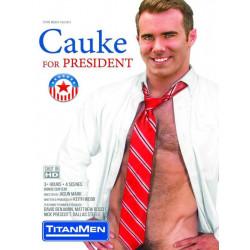 Cauke For President DVD (TitanMen) (13392D)